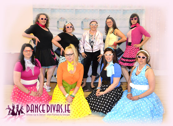 Dance Divas - 50s Hen party