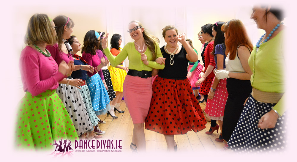 Grease Dance Hen Party Galway