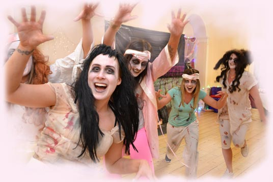 Dance Divas - thriller hen party